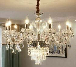 Candle Crystal Chandelier Lights LED Home Luxuries Decorative Night Lighting New $739.77