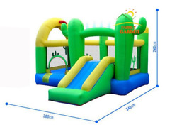 Inflatable Cactus Bounce House Playground Castle Jumper trampoline for kids NEW