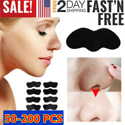 50-200PC Blackhead RemoverDeep Cleansing Purifying Peel Acne Pore CleanerUSA $5.99