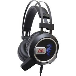 GamesterGear Falcon Over the Ear Stereo PC Gaming Headset with Microphone LED Li $26.30