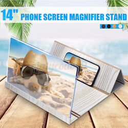 14' Folding Mobile Phone Screen Magnifier 3D HD Screen Amplifier Stand US /US/ $18.49