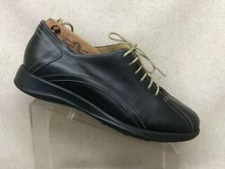 Barneys New York Black Leather Oxford Casual Shoes Men Size 10 M Style 24312 $65.25