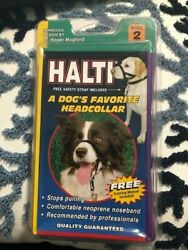 Halti Head Collar Dog Canine Size 2 Beagle Cocker Spaniel Schnauzer $14.95