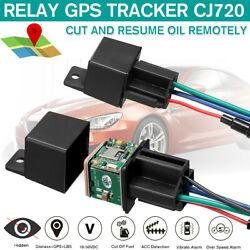 GPS Car Tracker Real Time Device Locator Remote Control Anti theft Hidden 10 40V $22.59