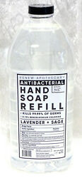Home & Body Co. LAVENDER SAGE Apothecary Hand Soap REFILL 64 oz $44.99