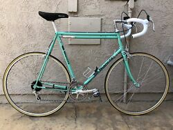 Pristine Bianchi Nuovo Alloro 12 speed road bike campagnolo super record columbu $1,500.00