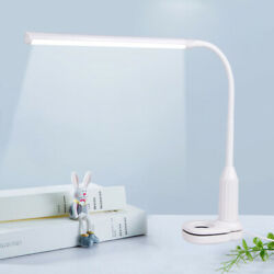 24 LED Flexible USB Touch Dimmable Clip On Desk Lamp Study Reading Night Light $14.99