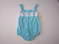 Fantaisie Kids Boutique Girls One Piece Outfit Hand Smocked Size 24 Months $10.00