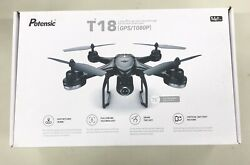 Potensic T18 FPV Drone FPV Real-time Video, 5G WiFi HD Video GPS/1080P/ Open Box $94.99