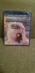 Abominable (Blu-ray DVD Digital) NEW Disney Same day Shipping read  $14.99
