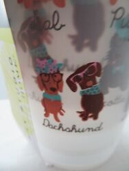 Max Studio Melamine Small Outdoor Tumblers DACHSHUNDS CORGI LAB SCOTTIE PUG NEW $15.99