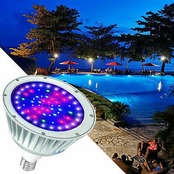 120V40W RGBW Swimming Pool LED Light Color Changing for Pentair Hayward $89.00