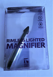 Rimless Lighted Magnifier 3X Great Point Light $10.89
