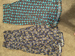 Lularoe Lot Of 2 Women's Dresses Excellent One Dress NWT Size Small $11.00