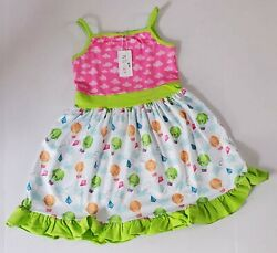 Pete and Lucy Children's Boutique Summer Hot Air Balloon Dress Size 5T $25.00