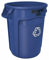 Rubbermaid Commercial Products BLUE BRUTE Heavy Duty Recycling Bin 20 Gallon