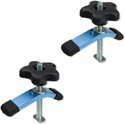POWERTEC T Track Mini Hold Down Clamp 3 5 8quot; L x 3 4quot; W 2 Pack 71389 $17.99