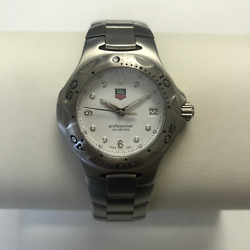 TAG HEUER KIRIUM MID SIZE WHITE DIAL WATCH *NEW* WL1210-0