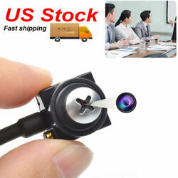 Small HD 1000TVL wired mini cctv Screw Lens security Nanny micro Video camera $19.99