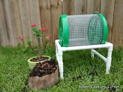 Compact Composting Worm Casting Sifter $109.00