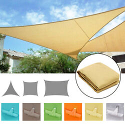 Waterproof Canopy Sun Shade Sails 300D Oxford UV Protection Top Cover Awnings $35.89