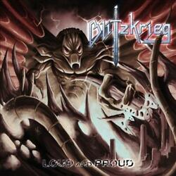BLITZKRIEG LOUD AND PROUD NEW CD $14.27