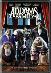 The Addams Family (DVD 2020) Brand New & Sealed FREE SHIPPING