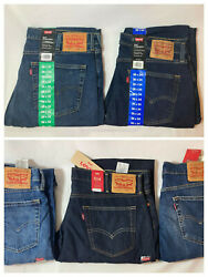 Men#x27;s Levi#x27;s 514 Regular Fit Straight Leg Jeans Choose Color amp; Size $32.99