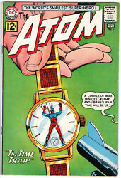 ATOM #3 (1962) - Grade 5.0 - 1st appearance of Chronos in Time Trap! $50.00