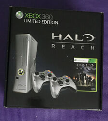 Halo Reach Limited Edition Xbox 360 Console Bundle Brand New Factory Sealed $350.00