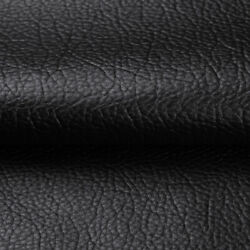 Black Marine Vinyl Fabric Faux Leather Upholstery Pleather Auto Boat By the Yard $10.95