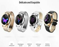 Waterproof Bluetooth Women Smart Watch Pedometer Connecting IOS Android Phones C $79.75