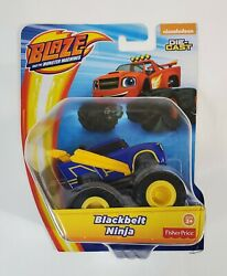 BLACKBELT NINJA BLAZE AND THE MONSTER MACHINES DIE CAST TRUCK NICKELODEON 2018 $19.95