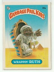 Garbage Pail Kids ⭐ WRAPPIN' RUTH 36a ⭐ GPK 1985 Series 1 👀 EXMT $7.99