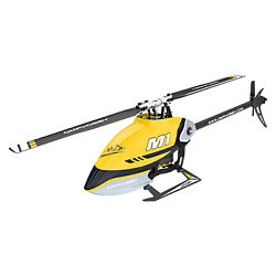 OMPHOBBY M1 Mini RC Helicopters Dual Brushless Motors Direct Drive 3D Adults BNF $249.99