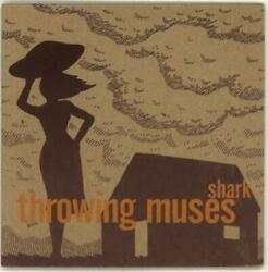 Throwing Muses Shark Maroon Sleeve 7quot; vinyl single record UK AD6016 4AD 1996 GBP 13.94
