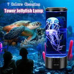 7-Color Changing LED Jellyfish Lamp Aquarium Bedside Night Atmosphere Mood Light $39.99