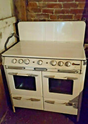 1950 O#x27;Keefe amp; Merritt Vintage Stove Double Oven Broiler Griddle 50s retro $1495.00