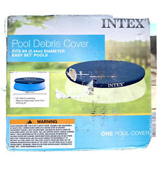 Intex 8 Foot Above Ground Swimming Pool Debris ~ Vinyl Round *Cover Only* $30.00