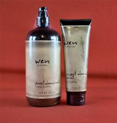 New Sealed Wen Sweet Almond Mint Set Cleansing Conditioner & Styling Creme $29.99