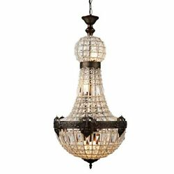 Antique Chandeliers Fixture Lights Rustic Incandescent Perfect For Hotel Hallway $706.34