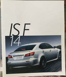 2014  Lexus IS F Brochure $6.00