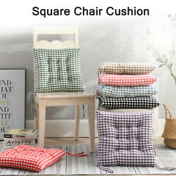 15.7*15.7inch Polyester Chair Cushion Square Seat Soft Padded Furniture Pad Home $10.90