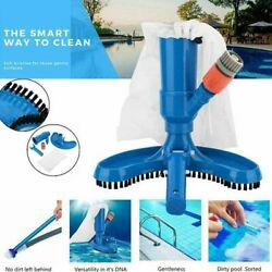 home Vacuum Brush Swimming Spa Pool Pond Fountain Vacuum Cleaner Cleaning Tool $29.95