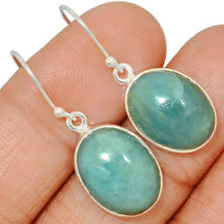 Sky Color Aquamarine 925 Sterling Silver Earring Jewelry AQME275 $28.99