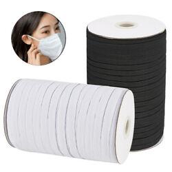 1 4quot; Inch Heavy Elastic Band Cord Sewing Trim for DIY Face Mask 10 130 Yards $7.99