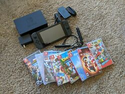 Nintendo Switch with 8 games !!! Free Shipping !!! $400.00