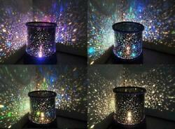 Romantic LED Starry Night Sky Projector Lamp Star  Master Party Decor Gift--NEW $13.95