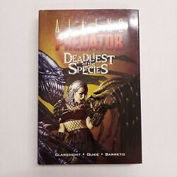 Aliens Predator Deadliest of the Species Signed Limited Edition Claremont Bolton $159.99