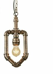 Pendant Brown Lights LED Fixtures Blown Rust Vintage Metal E27 Base Type 90 260V
